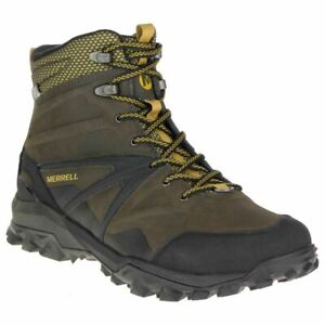 MENS-MERRELL-LEATHER-CAPRIA-GLACIAL-ICE-WATERPROOF-HIKING-TRAIL-BOOTS-UK-8-10