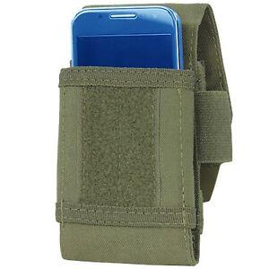 Condor Outdoor MOLLE Tech Sheath Plus Smart Phone Utility Pouch OD Green 191085