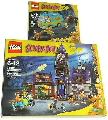 Scooby Doo Mystery Manision Compatible Lego 75904 Building Bricks