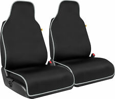 Cat Waterproof Car Front Seat Covers 2 Pack Neoprene Auto Seat Towel Covers Fits Jeep Cherokee