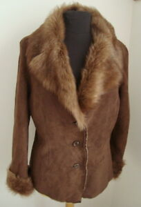 toscana Shearling Size 2566 Jacket Sheepskin M Merino Ladies' qBFf5w