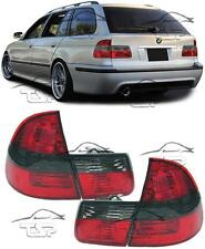 REAR TAIL LIGHTS RED+SMOKE FOR BMW E46 98-05 SERIES 3 TOURING LAMPS