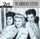 20th Century Masters - The Millennium Collection: The Best of the Andrews Sisters by The Andrews Sisters (CD, Mar-2000, MCA)