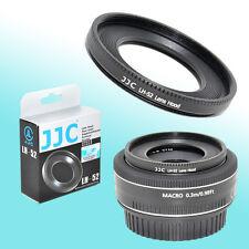 ES-52 Metal Lens Hood Shade Canon EF-S 24mm EF Canon 40mm EF f/2.8 STM Pancake