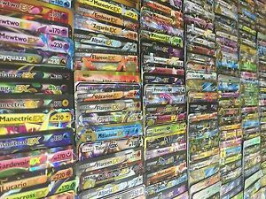 Pokemon-TCG-100-Card-Lot-100-AUTHENTIC-Ultra-Rare-GX-or-EX-Inc