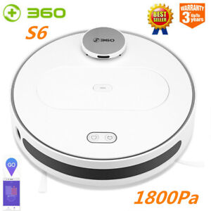 360-S6-Saugroboter-Smart-Robotic-Staubsauger-Vakuum-Reinigung-Robot-1800pa-0-4L