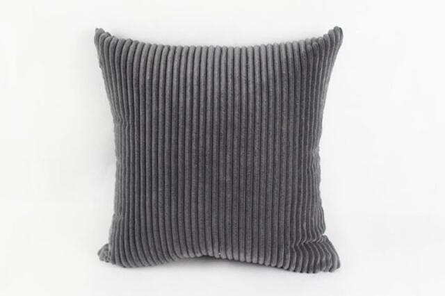 Trendy stripe corduroy hug Pillowcase Home Bed Room Pillow Cushion Cover Cool