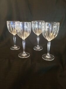 Waterford-Marquis-Omega-8-7-8-Water-Wine-Glasses-Set-Lot-of-Four-4