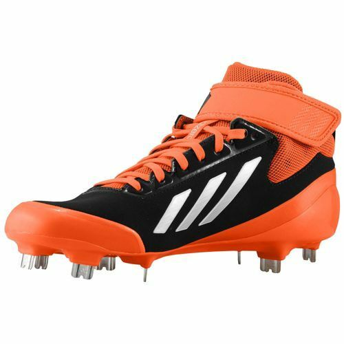 G98935 Men's Adidas Cleats Baseball adizero 5 Tool 2.5 Cleats Adidas Black/Metallic Silver/Ora ca2ed0