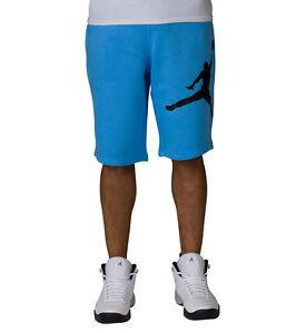 Jordan 11 Jump Man Cotton Carolina Blue Shorts   eBay
