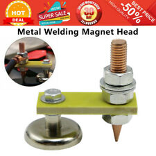 New Magnetic Metal Welding Magnet Head Welding Support Ground Clamp Without Tail