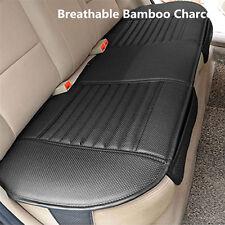 13849cm Black Car Rear Seat Cover Universal Bamboo Charcoal Cushion Pad Pu Fits Suzuki Equator
