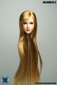 """SUPERDUCK 1//6 Female head SDH017 For Pale PHICEN TBL Hot Toys 12/"""" Figure ❶USA❶"""