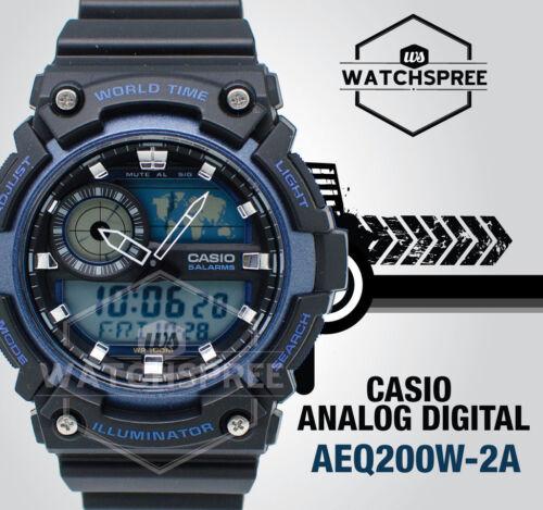 1 of 1 - Casio Standard Analog Digital Watch AEQ200W-2A