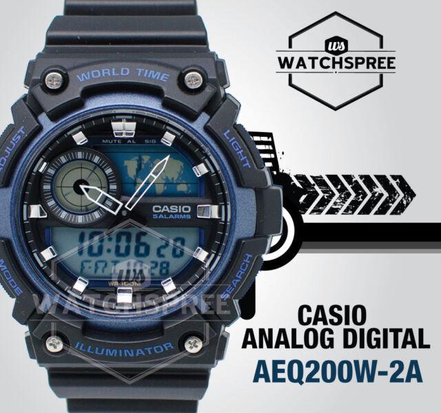 Casio Standard Analog Digital Watch AEQ200W-2A