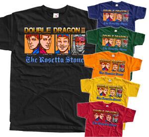 Double Dragon 3 Ending Nes Game T Shirt Black Red Orange All Sizes S 5xl Ebay