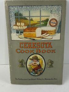 Vintage Ceresota Cook Book Northwestern Consolidated Milling Co Flour Booklet
