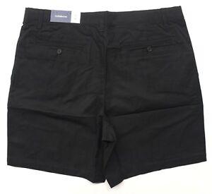 Men-039-s-Croft-amp-Barrow-Easy-Care-Pleated-Shorts-MC81X001RS-001-Black-Tie