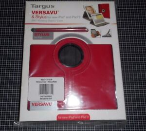Targus-BEU3175-01P-Etui-Stylus-Rouge-Pour-iPad-2-3-et-Compatible-4