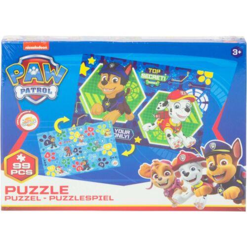 Paw Patrol Puzzle Puzzle-Spiel Lernspiel 2in1 Kinder Jungen Mädchen NEU