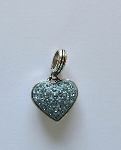 Brighton-Cupid-039-s-Kiss-Heart-Crystal-Heart-Charm-silver-light-blue-crystals