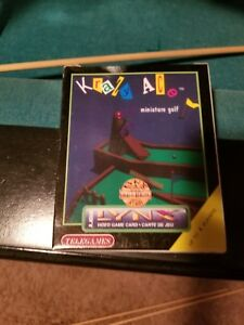 KRAZY-ACE-Miniature-Golf-atari-lynx-video-game-New-COMES-BRAND-NEW-NO-PLASTIC