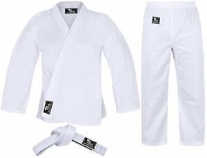 Karate Uniform for Kids and Adults Karate Gi Martial Arts Free Belt Hawk Sports