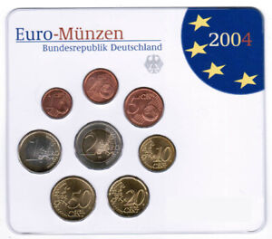 Germany Official Course Set 2004 G Drapes Bright Brilliant Uncirculated