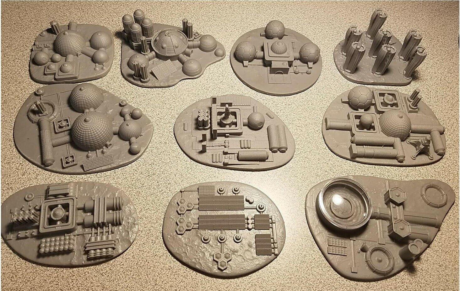 10 Martians  A Story of Civilization, Kickstarter Buildings