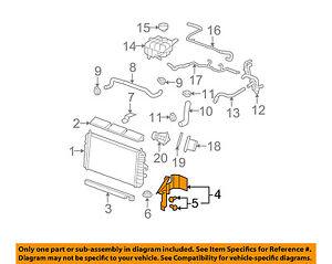 Phenomenal Cadillac Gm Oem 06 11 Dts 4 6L V8 Radiator Side Baffle Right Wiring 101 Israstreekradiomeanderfmnl