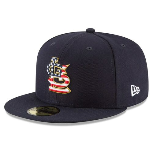 Louis Cardinals New Era 2018 Stars /& Stripes 4th of July On-Field 59FIFTY St
