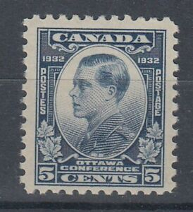 CANADA-1932-5c-OTTAWA-CONFERENCE-PRINCE-OF-WALES-MINT-ID-275-D55941