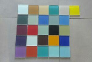 Stück Bunte Milchglas Fliesen Mosaik Patchwork Fliese X Cm - Fliesen 10x10 bunt
