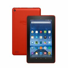 "Amazon Fire, 7"" Display, Wi-Fi, 8 GB - Includes Special Offers, Tangerine"