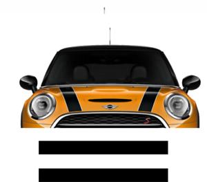 Mini-Cooper-One-Autocollant-Bandes-Capot-sticker-decoration-adhesif-n-1