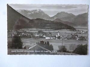 Ansichtskarte Ohlstadt Bayer. Alpen mit Zugspitze  (Nr.601)