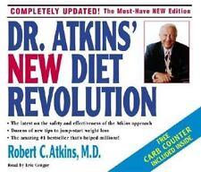 NEW Dr. Atkins' New Diet Revolution by Robert C. Atkins (2002, CD, Abridged)