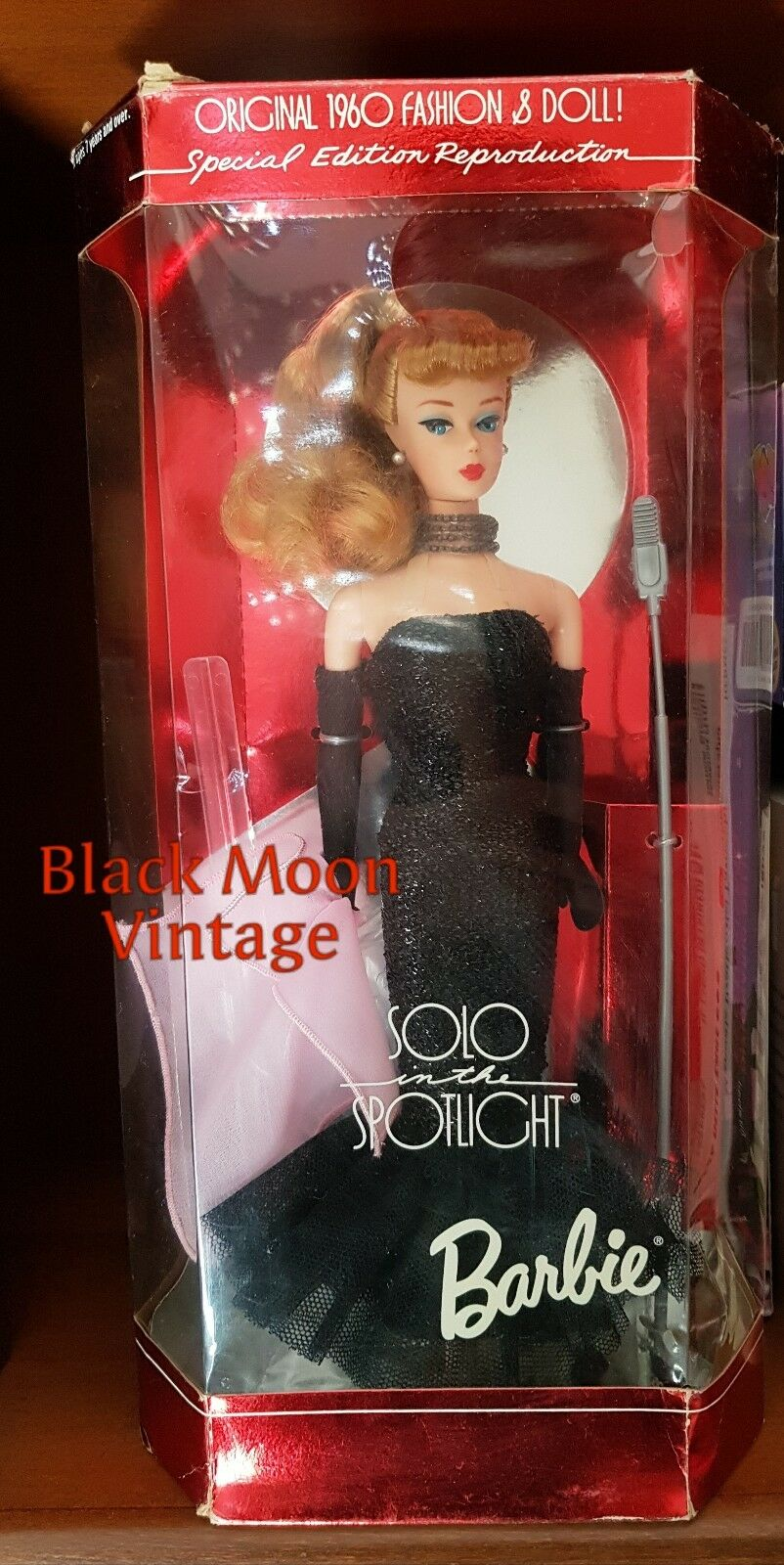 BARBIE Solo in Superstar the Spotlight 1994 Reproduction Superstar in RARE NEW cc7a95