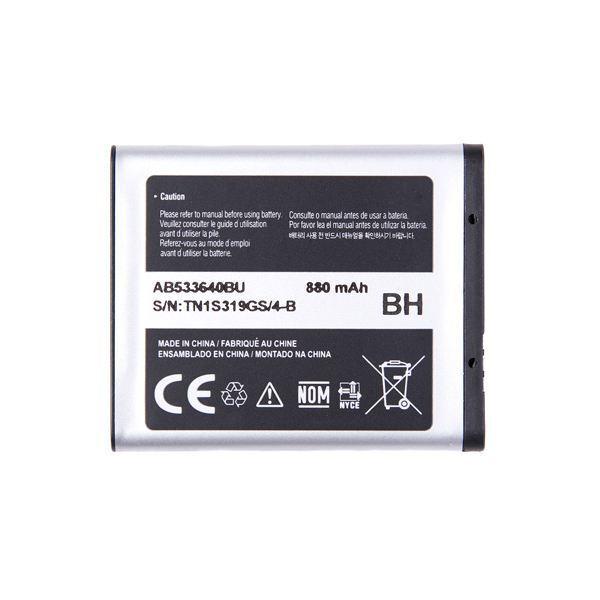 Original Samsung L600 B3310 S8300 Akku Accu Batterie Battery Ersatz AB533640BU