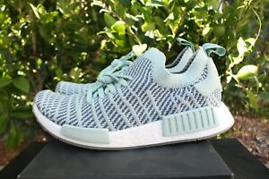 new styles 59797 d5f9e Image is loading WOMENS-ADIDAS-NMD-R1-STLT-SZ-9-STEEL-