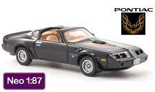 NEO 1979 Pontiac Firebird Trans-Am in Black 1:87 - Amazing HO Detail