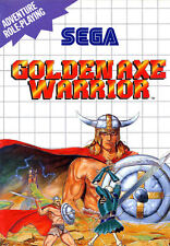 Framed SEGA Master System Game Print – Golden Axe Warrior (Gaming Arcade Classic