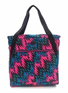 ELLE-Sport-Travel-Tote-Bag-Pink-Black