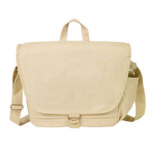 E-Green-Canvas-Messenger-Bag-Khaki