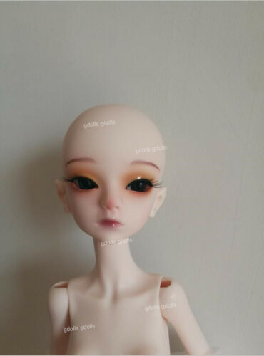 1//4 BJD Doll Girl Bella free eyes with face make up Dolls Resin