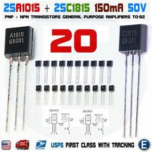 2SC1815 Japan-Transistor npn 50V 150mA 400mW