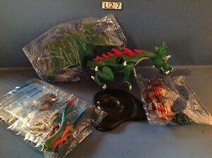 (L27) playmobil chevalier et son dragon ref 6003 neuf complet sans boite
