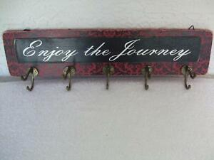Image Is Loading New Otc Enjoy The Journey Sign Wooden Wall