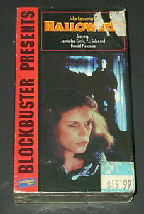 HALLOWEEN-VHS-1978-HORROR-SLASHER-NEW-SEALED-RARE-VIDEO-TAPE-BLOCKBUSTER-CLASSIC