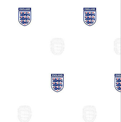 Official England Football Wallpaper White Blue Red Fan Kids Three Lions